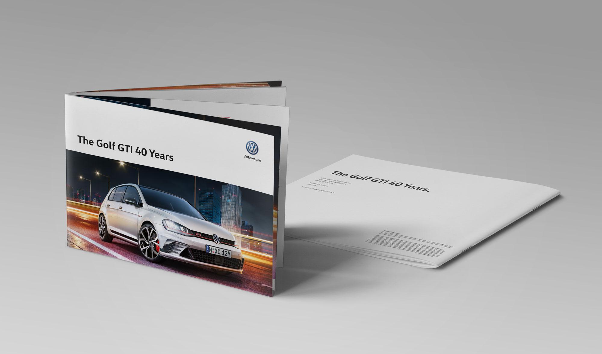 GTI40 Years Brochure | • Bleene • Digital Portfolio